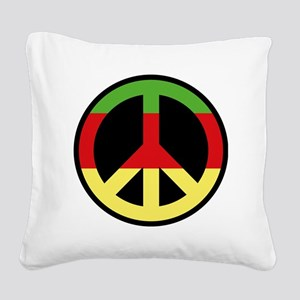peace01 Square Canvas Pillow