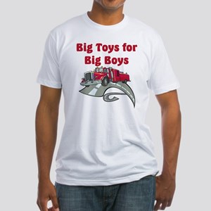 Big Toys For Big Boys Fitted T-Shirt