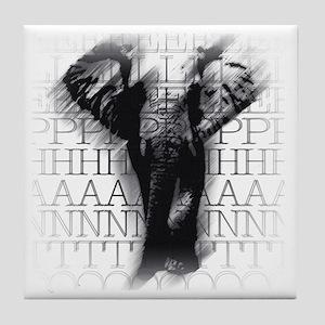 hgelephant-face Tile Coaster