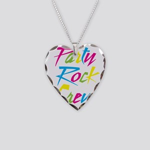 Party Rock Necklace Heart Charm