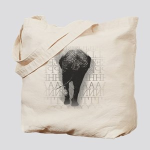natelephant-back Tote Bag