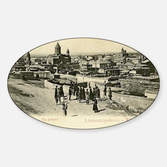 GA_AlexandropolGyumri16x24 Sticker (Oval)