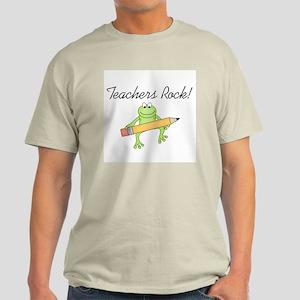 Frog Teachers Rock Light T-Shirt