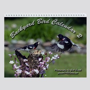 Backyard Birds Wall Calendar