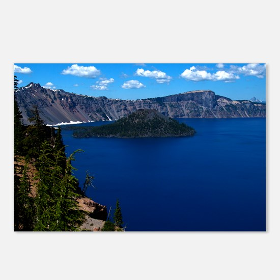 (4) Crater Lake  Wizard I Postcards (Package of 8)