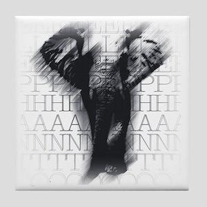 nvyelephant-face Tile Coaster