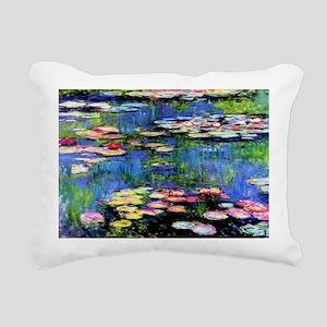 MONETCOINPURSETEMPLATE Rectangular Canvas Pillow