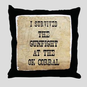 ok6 Throw Pillow