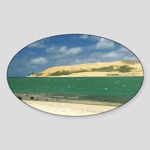 New Zealand, Sand Dunes, Hokianga H Sticker (Oval)