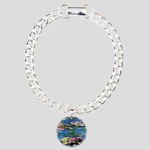 MONETWATERLILLIESprint Charm Bracelet, One Charm