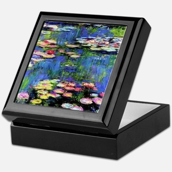 MONETWATERLILLIESprint Keepsake Box