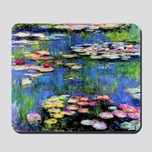 MONETWATERLILLIESprint Mousepad