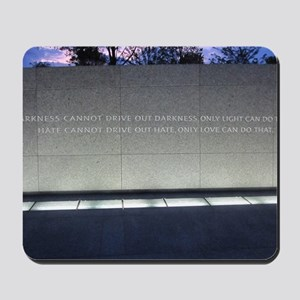 MLK Darkness and Love Mousepad