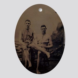 tintype2 Oval Ornament