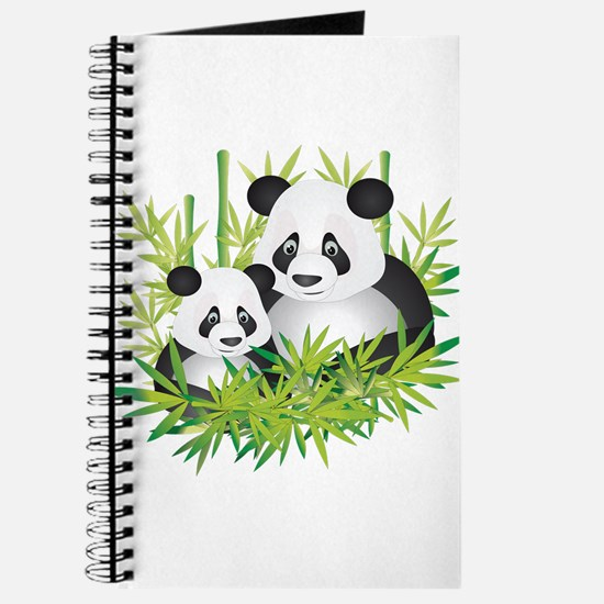 Two Pandas in Bamboo Journal