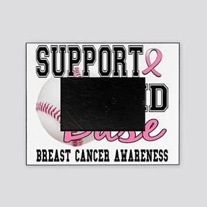 - 2nd Base Breast Cancer Picture Frame