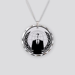 anonymous Necklace Circle Charm