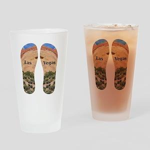 LasVegas_10.526x12.85_FlipFlops Drinking Glass