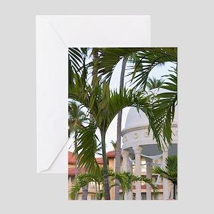 Wedding gazebo at Majestic Elegance  Greeting Card