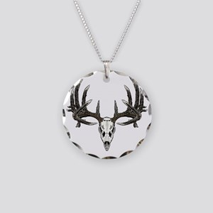 big whitetail 9b base sept 2 Necklace Circle Charm