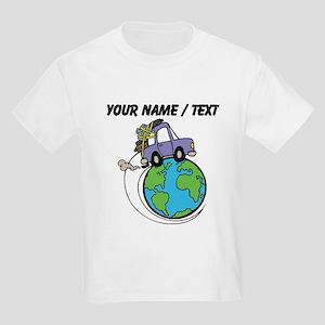 Custom Driving Around The World T-Shirt
