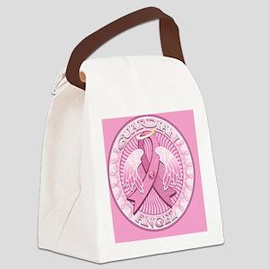 PinkGAngelPcSq Canvas Lunch Bag