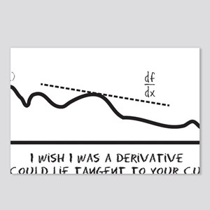 I wish I was a derivative Postcards (Package of 8)