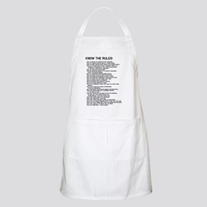 The Rules 02 Apron