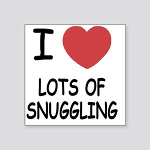 "LOTSOFSNUGGLING Square Sticker 3"" x 3"""