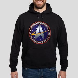 Starfleet Command Hoodie (dark)