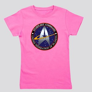 Starfleet Command Girl's Tee