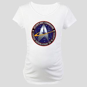 starfleet command emblem Maternity T-Shirt