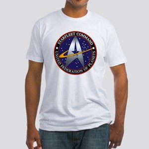 starfleet command emblem Fitted T-Shirt