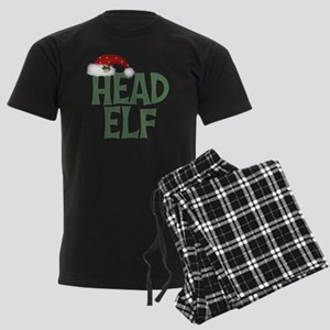 Head Elf Men's Dark Pajamas
