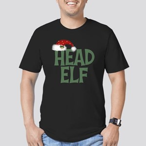 Head Elf Men's Fitted T-Shirt (dark)