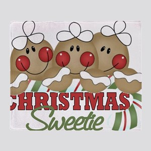 Christmas Sweetie Throw Blanket