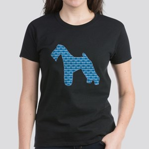 Bone Terrier Women's Dark T-Shirt