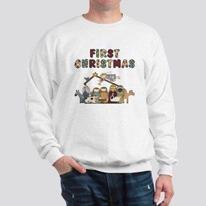 First Christmas Tote Bag Sweatshirt