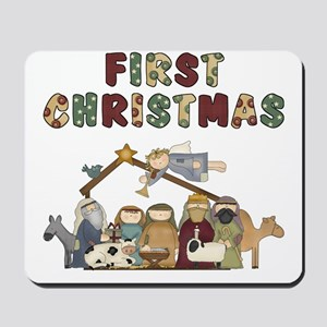 First Christmas Tote Bag Mousepad