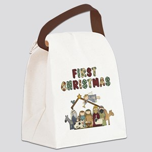 First Christmas Tote Bag Canvas Lunch Bag