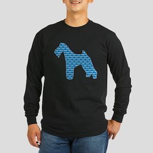 Bone Terrier Long Sleeve Dark T-Shirt