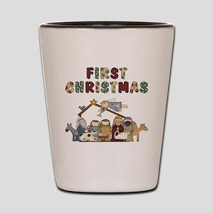 First Christmas Tote Bag Shot Glass