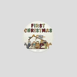 First Christmas Tote Bag Mini Button