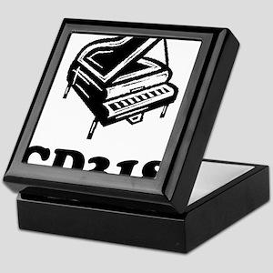 CD318-black Keepsake Box