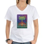 Celtic Tree Of Life Women's V-Neck T-Shirt