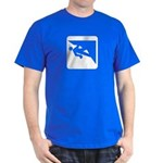 Climbing Guy Icon Dark T-Shirt