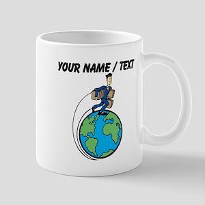 Custom World Traveler Mugs