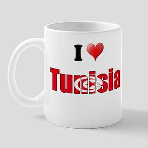 I love Tunisia Mug