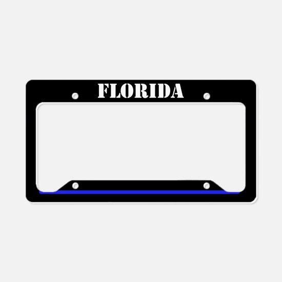 Florida Police License Plate Holder