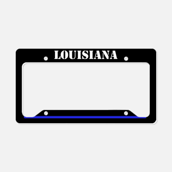 Louisiana Police License Plate Holder